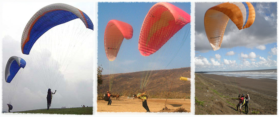 Club pilot level training in paragliding